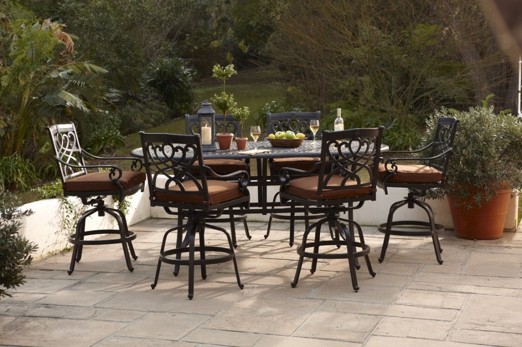 Bar Height 7 pc Dinning set